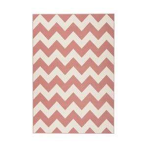 Ružovo-bílý koberec Kayoom Maroc, 80 x 150 cm