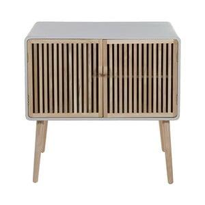 Nočný stolík z dreva Paulownia a dubového dreva Santiago Pons Montana