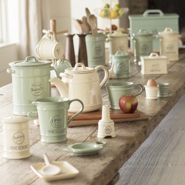 Zelená porcelánová dóza na kávu T&G Woodware Pride of Place