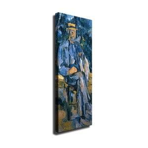 Nástenná reprodukcia na plátne Paul Cézane, 30 × 80 cm