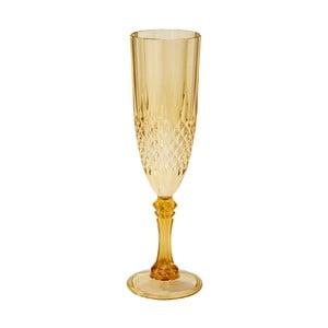 Plastový pohár na šampanské Talking Tables Baroque