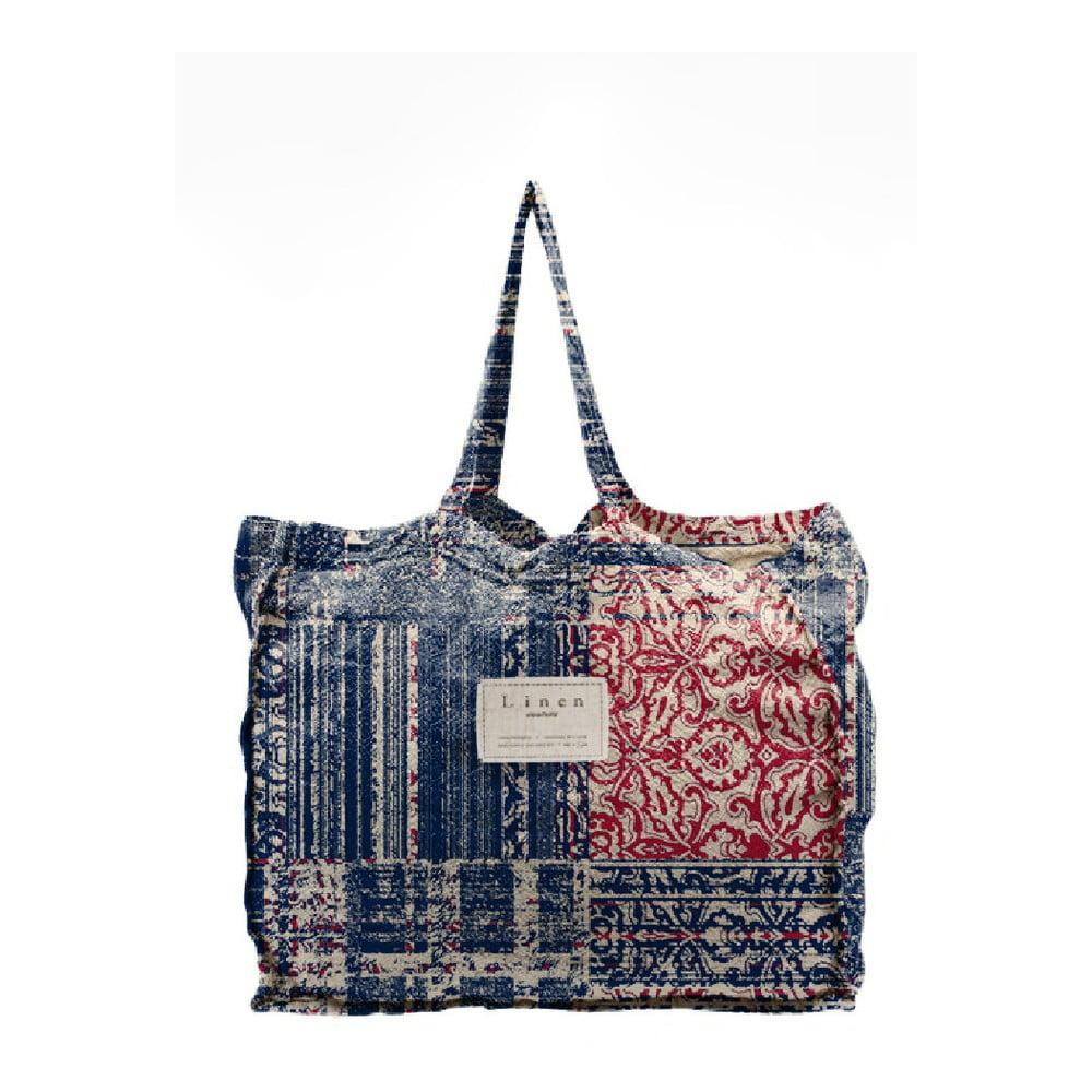 Látková taška Linen Couture Batik, šírka 50 cm