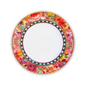 Porcelánový plytký tanier Melli Mello Eliza, 21cm