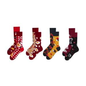 Sada 4 párov ponožiek v darčekovom balení Many Mornings Contentment, veľ. 43–46