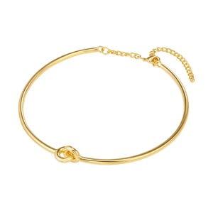 Dámsky náhrdelník zlatej farby Tassioni Triples