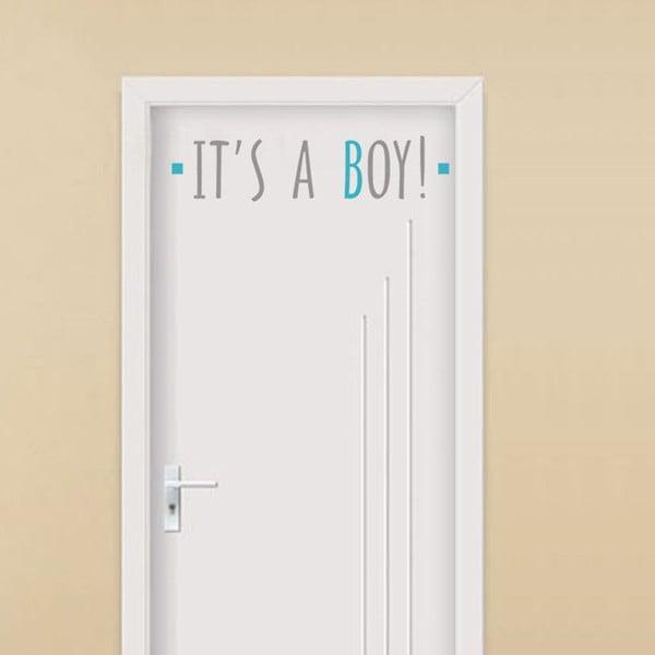 Dekoratívna samolepka It´s A Boy, 13x54 cm
