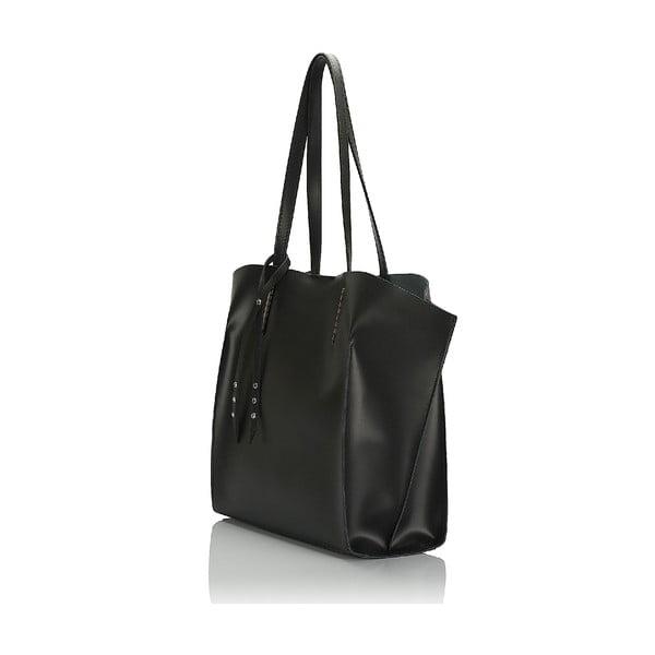 Kožená kabelka Giorgio Costa 15015 Black