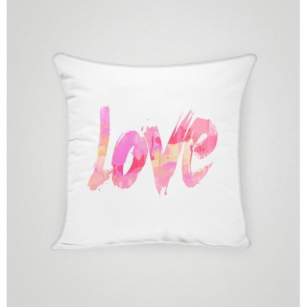Obliečka na vankúš Love IV, 45x45 cm