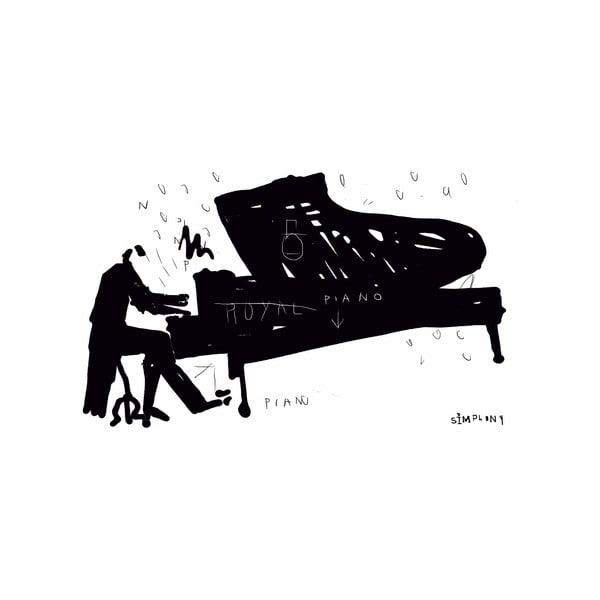 Obraz Black&White no. 2, 41x70 cm