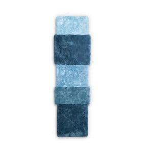 Modrý koberec EMKO Over Stripe
