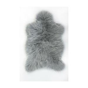 Kožušinový koberec Apolena, 70x100cm, sivý