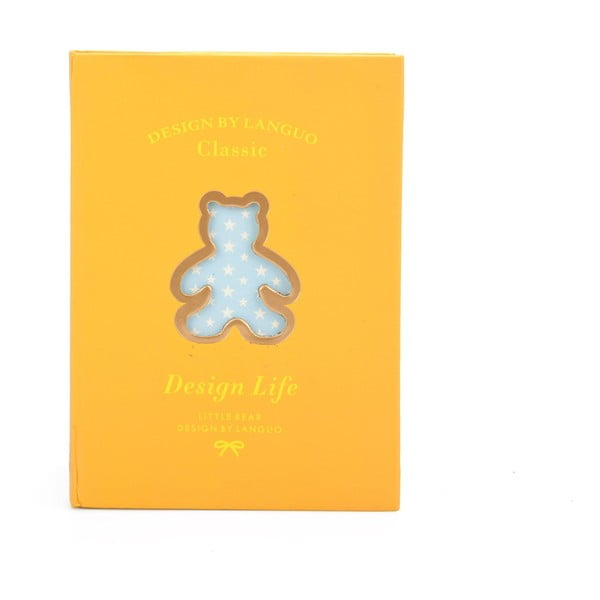 Zápisník Bear, žltý