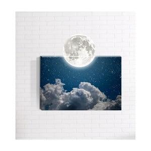 Nástenný 3D obraz Mosticx Mesiac, 40 x 60 cm