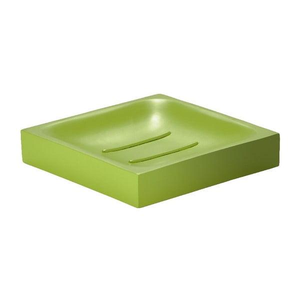Podložka na mydlo Cube, limetková