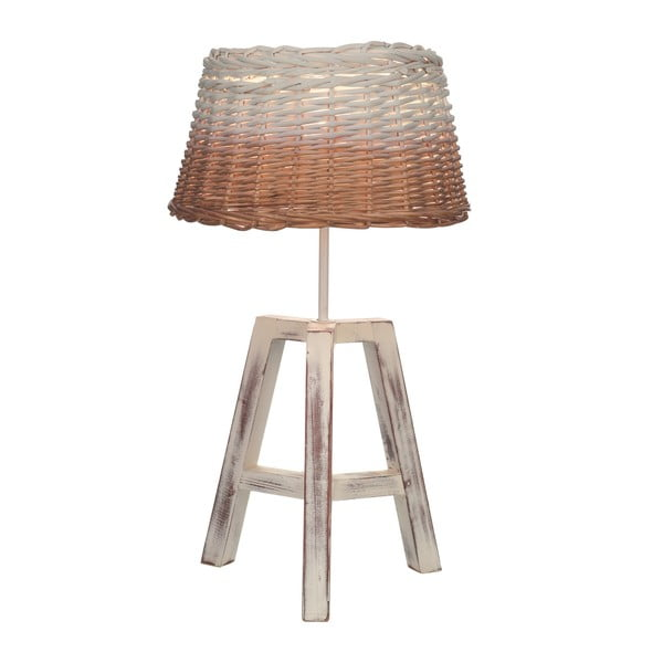 Stolová lampa Artesania Esteban Ferrer Wicker