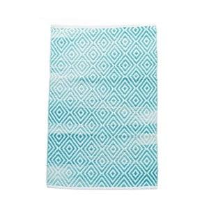 Bavlnený koberec InArt Marine, 120x180 cm, krémový/mint