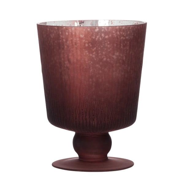 Svietnik/váza Hurricane Red, 16 cm