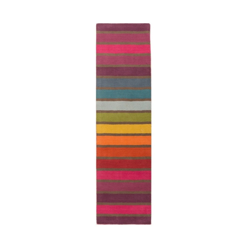 Vlnený behúň Flair Rugs Illusion Candy 60 × 230 cm