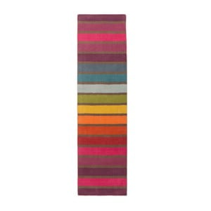 Vlnený behúň Flair Rugs Illusion Candy, 60 × 230 cm