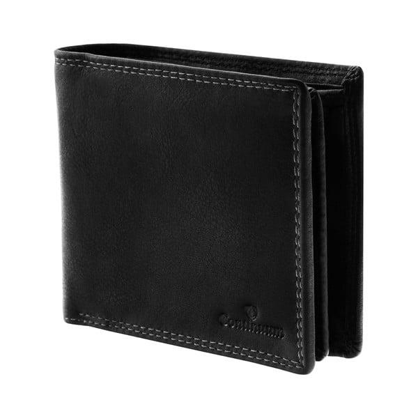 Kožená peňaženka Continuum 1518, dvojité prešívanie