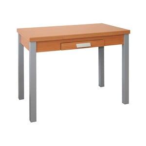 Rozkladací jedálenský stôl v dekore čerešňového dreva Pondecor Extensio, 60×100cm