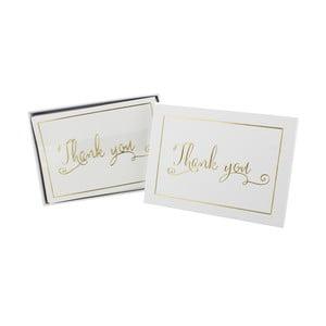 Ďakovné kartičky pre svadobných hostí Celebrations Always and Forever