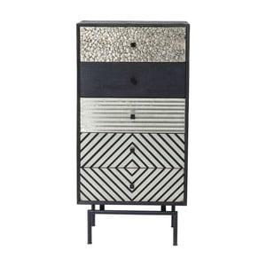 Komoda z mangového dreva s 5 zásuvkami z mangového dreva Kare Design Art House