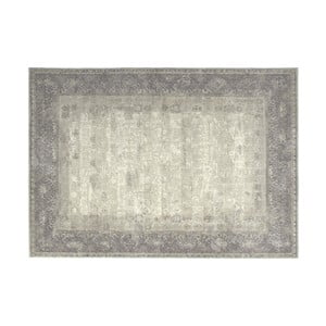 Sivý vlnený koberec Kooko Home Skittle, 240 × 340 cm
