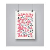 Plagát Americanflat Cherry Blossoms, 30 x 42 cm