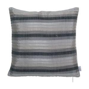 Plisovaná obliečka na vankúš Apolena, sivá