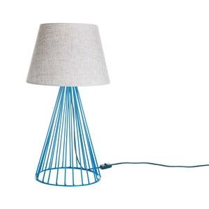 Stoloná lampa Wiry Blue/Beige