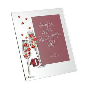 Rámik na fotografiu k 40. výročiu Celebrations, na fotografiu 10×15 cm