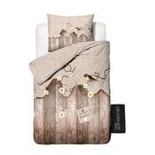 Bavlnené obliečky Dreamhouse Janine Taupe, 140x220cm