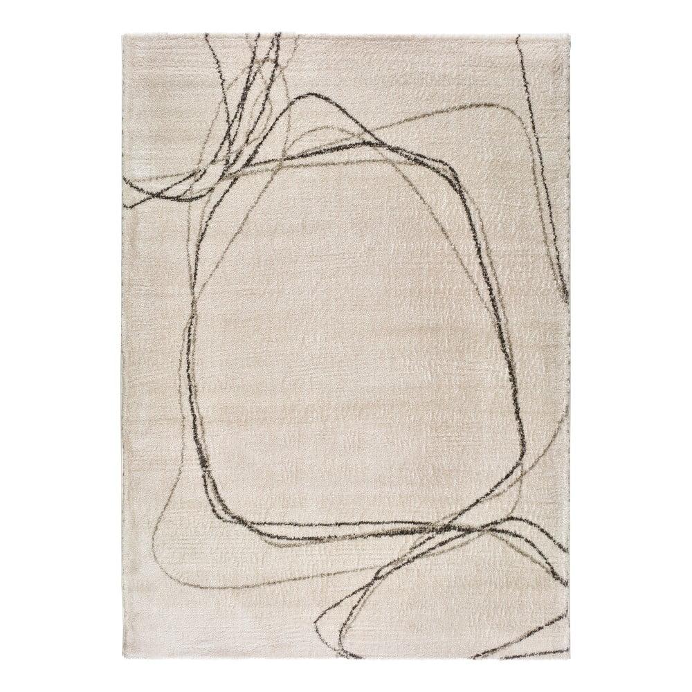 Krémovobiely koberec Universal Moana Treo, 120 x 170 cm