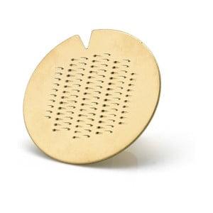 Strúhadlo vo forme prsteňa v zlatej farbe e-my Spicy