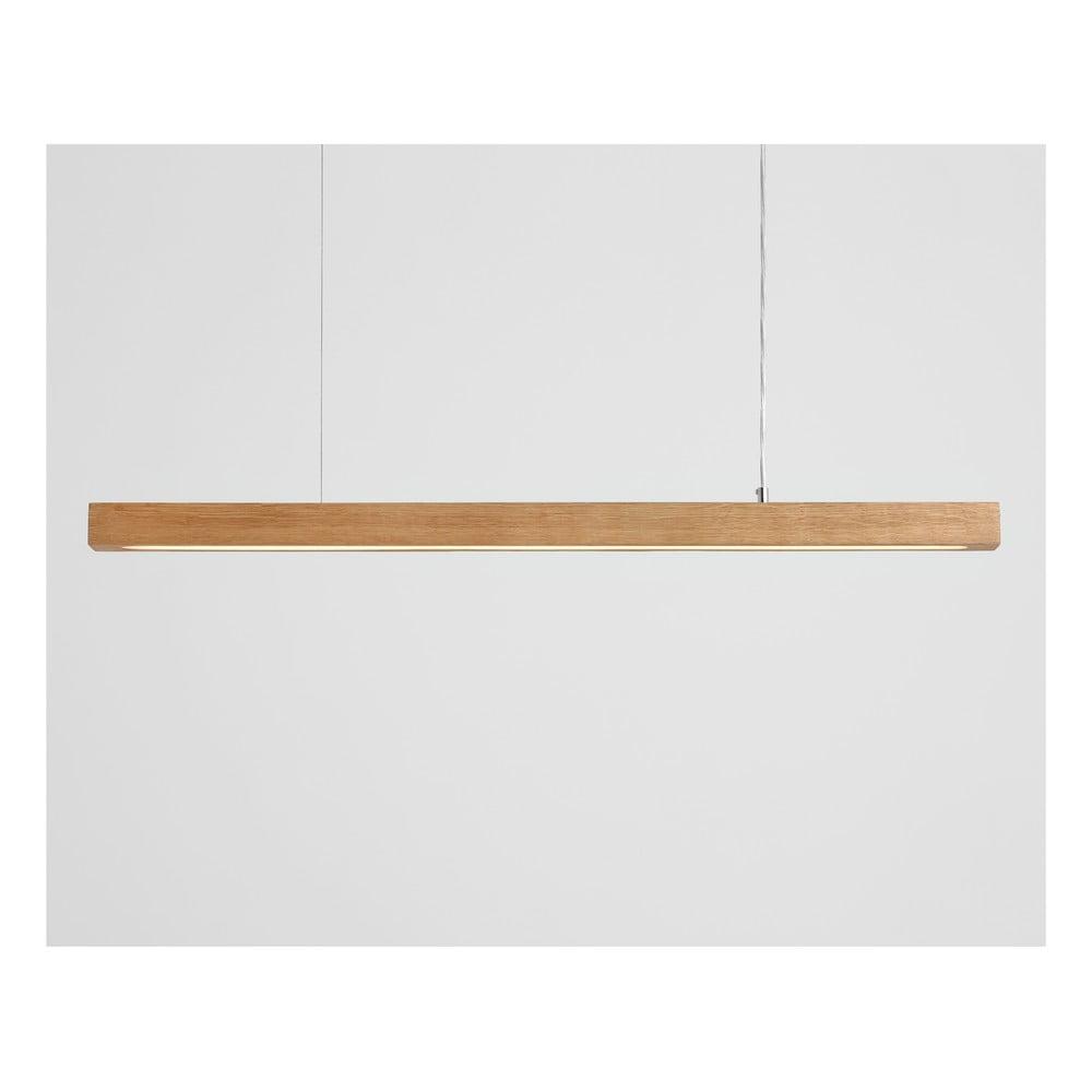 Závesné svietidlo z dubového dreva Custom Form Line Plus L Woody