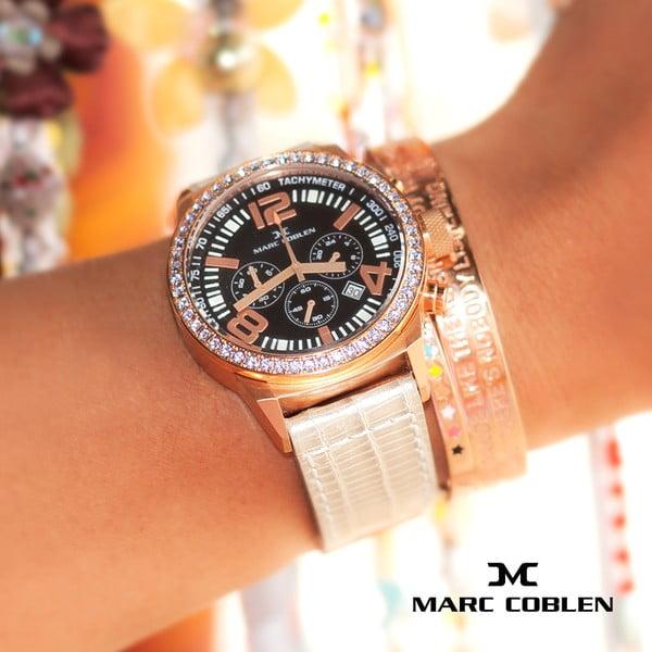 Dámske hodinky Marc Coblen s remienkom a krúžkom na ciferník naviac P23