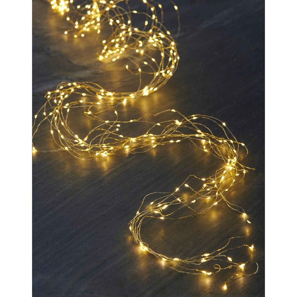 Svetelná LED reťaz Sirius Knirke, 15 x 1,5 m