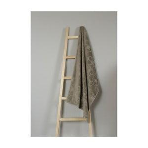 Hnedý bavlnený uterák My Home Plus Bath, 68×145 cm