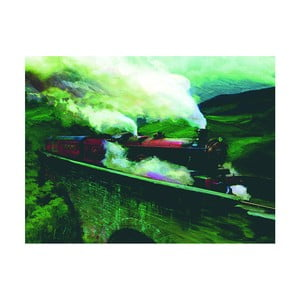 Obraz Pyramid International Harry Potter Hogwarts E×press Landscape, 60 x 80 cm