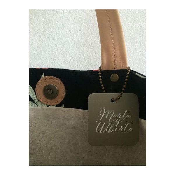 Plátená taška Berlin Black