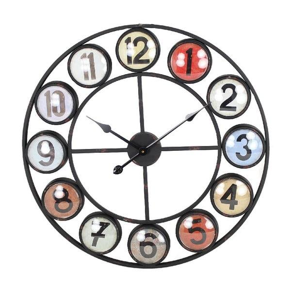 Nástenné hodiny Iron Red, 68 cm