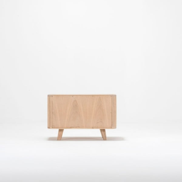 Nočný stolík z dubového dreva Gazzda Ena One, 60×42×40 cm