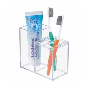 Kúpeľňový stojan na kefku a zubnú pastu iDesign