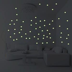 Sada 100 svietiacich hviezd Fanastick Stars