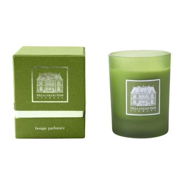 Sviečka s vôňou zeleného čaju a uhorky Villa Collection, 9 cm