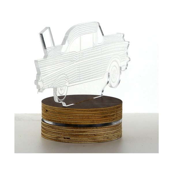 3D stolová lampa Car