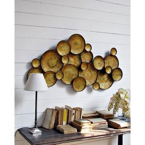 Nástenná dekorácia Golden Circle, 120 cm