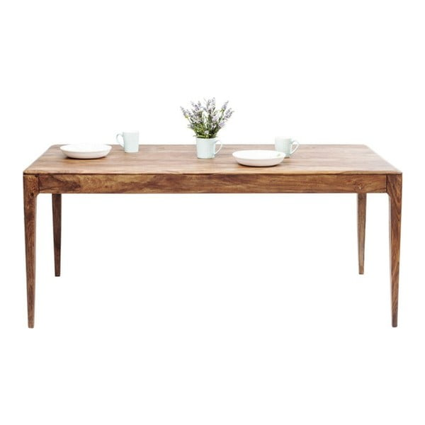 Jedálenský stôl z masívneho dreva Kare Design Brooklyn, 200×200cm