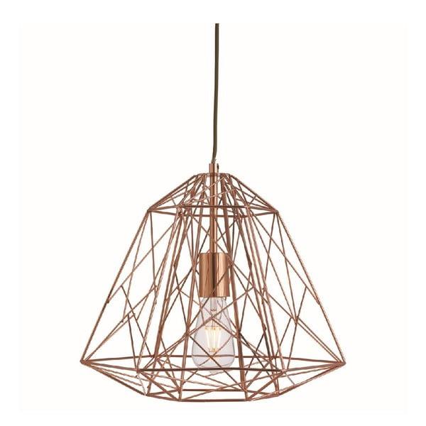 Stropné svetlo Geometric Copper